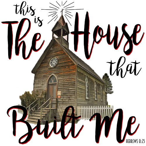 The House That Built Me, Inspirational Gift Tile Design