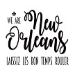 We Are New Orleans, Souvenir Home Decor Kitchen Towel Design